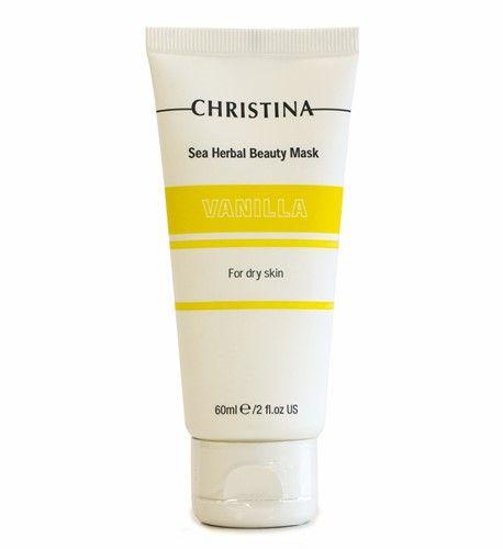 Ванильная маска красоты для сухой кожи Christina Sea Herbal Beauty Mask Vanilla