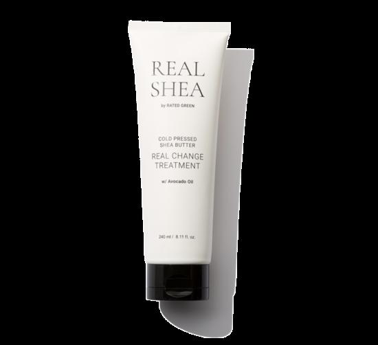 Питательная маска для волос с маслом Ши Rated Green Real Shea Real Change Treatment