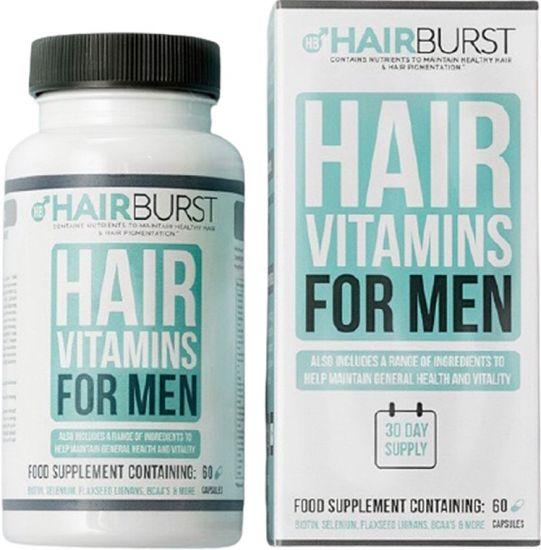 Витамины для роста и укрепления волос для мужчин HairBurst Helthy Hair Vitamins for men