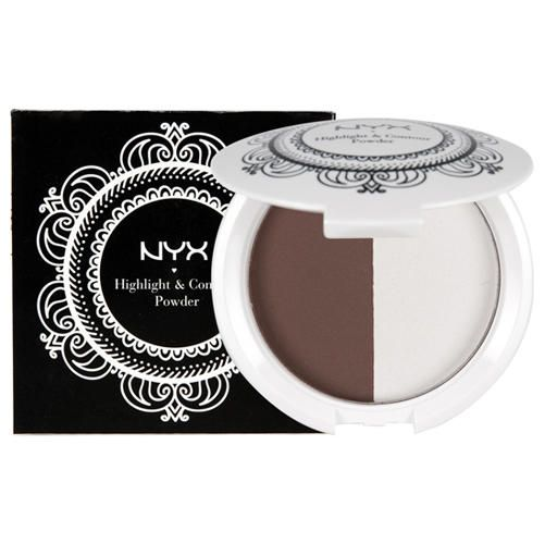 Хайлайтер и пудра для контурирования NYX Highlight & Contour Powder