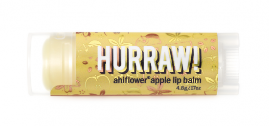 Бальзам для губ Hurraw! Ahiflower Apple Lip Balm