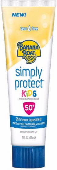 Детский солнцезащитный лосьон BANANA BOAT LIGHT AS AIR SUNSCREEN LOTION SPF50+