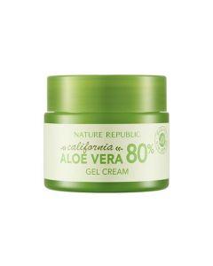 Освежающий гель-крем для лица Nature Republic California Aloe Vera 80% Gel Cream