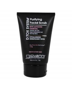 Очищающий скраб для лица Шаг 2 Giovanni D:tox System Purifying Facial Scrub Step 2