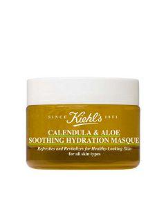 Успокаивающая и увлажняющая маска для лица c календулой Kiehls Calendula & Aloe Soothing Hydration Travel Size