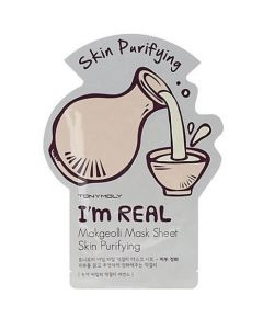 Тканевая маска TONY MOLY I'M REAL MAKGEOLLI MASK SHEET