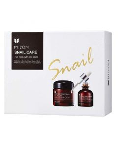Набор для лица MIZON Snail Care Two Birds With One Stone Set