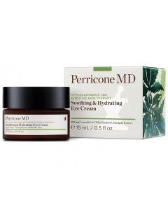 Увлажняющий крем для чувствительной кожи вокруг глаз Perricone MD Hypoallergenic CBD Sensitive Skin Therapy Soothing & Hydrating Eye Cream