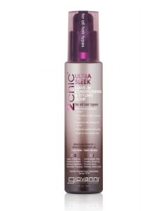 Несмываемый кондиционер для волос Giovanni 2chic Ultra Sleek Leave-In Conditioning Styling Elixir Brazilian Keratin Argan Oil