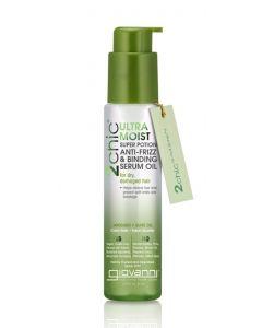 Увлажняющая сыворотка для волос Giovanni 2chic Ultra-Moist Super Potion Anti-Frizz Binding Serum Avocado & Olive Oil