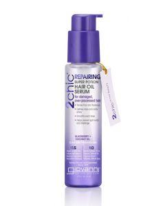 Сыворотка для волос с ежевикой и кокосовым молоком Giovanni 2chic Blackberry & Coconut Milk Ultra Repair Super Potion Hair Oil Serum