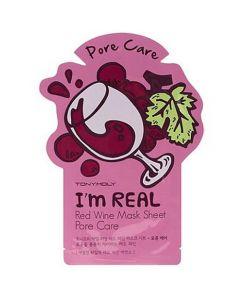Тканевая маска для лица с красным вином TONY MOLY I'm Real Red Wine Mask Sheet