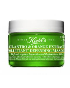 Ночная маска Kiehls Cilantro & Orange Extract Pollutant Defending Masque Travel Size
