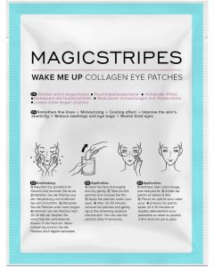 Коллагеновые патчи для кожи вокруг глаз Magicstripes Wake Me Up Collagen Eye Patches Sachet