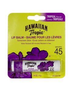 Солнцезащитный бальзам для губ Hawaiian Tropic Lip Balm SPF 45