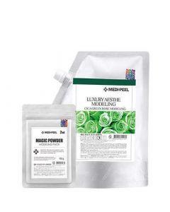 Альгинатная маска с центеллой Medi Peel Cica Green Rose Moisture Modeling Pack