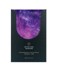 Угольная маска Увлажняющая Petite Amie Hydrating Bamboo Charcoal Masque Interstellar Indigo