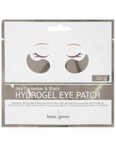 Гидрогелевые патчи для кожи вокруг глаз с морским огурцом 1 пара BeauuGreen Sea Cucumber & Black Hydrogel Eye Patch (1 pair)