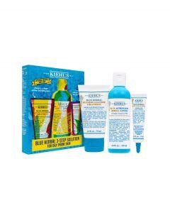 Набор Kiehls Blue Herbal Acne Elimination System