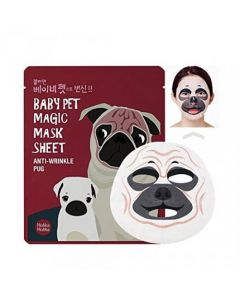 Тканевая маска Holika Holika Baby Pet Magic Mask Sheet Anti-wrinkle Pug