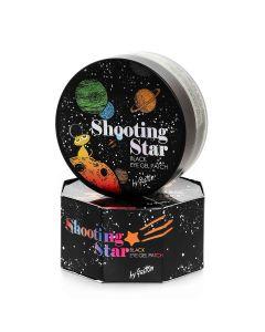 Чёрные гидрогелевые патчи для кожи вокруг глаз Gaston Shooting Star Black Eye Gel Patch