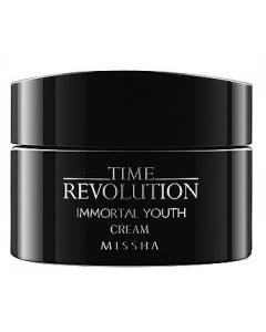 Омолаживающий питательный крем для лица Missha Time Revolution Immortal Youth Cream
