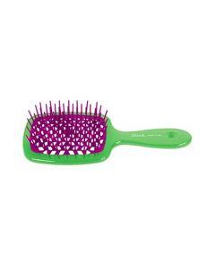 Расческа для волос Janeke Superbrush Green Purple
