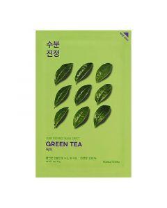 Тканевая маска для лица с зелёным чаем Holika Holika Pure Essence Mask Sheet Green Tea