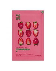 Тканевая маска для лица с экстрактом клубники Holika Holika Pure Essence Mask Sheet Strawberry