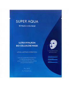 Увлажняющая гиалуроновая маска Missha Super Aqua Ultra Hyalron Bio Cellulose Mask