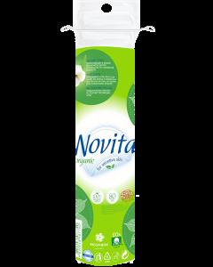 Косметические ватные диски Novita Organic 80 шт