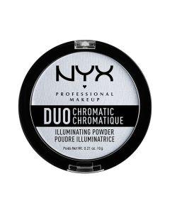 Хайлайтер NYX Duo Chromatic Illuminating Powder