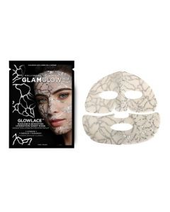 Маска для лица придающая сияние GLAMGLOW Glowlace Radiance-Boosting Hydration Sheet Mask