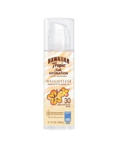 Солнцезащитный крем SPF 30 Hawaiian Tropic Silk Hydration Weightless Sun Care Sunscreen Lotion