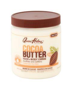 Крем для лица и тела с маслом какао Queen Helene Cocoa Butter Crème