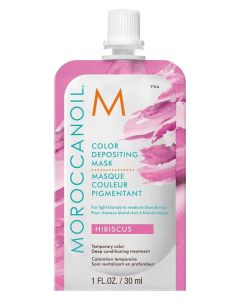 Маска для Волос Moroccanoil Color Depositing Mask Hibiscus