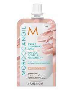 Маска для Волос Moroccanoil Color Depositing Mask Rose Gold