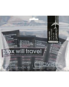 Набор для очищения Giovanni D:tox System Facial Kit Will Travel