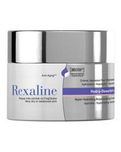 Суперувлажняющий ультрапитательный крем для сухой или ослабленной кожи Rexaline Hydra-Dose Nutri Cream