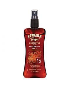 Масло-спрей для загара SPF15 Hawaiian Tropic Protective Dry Oil