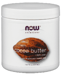 Чистое Масло Какао NOW Foods, Solutions, Cocoa Butter 100% Pure