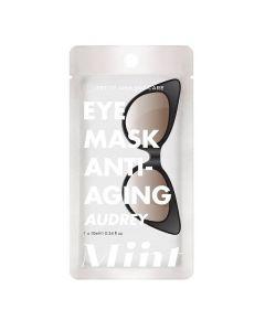 Маска для кожи вокруг глаз с антивозрастным эффектом Petite Amie Miint Anti-Aging Eye Mask Audrey