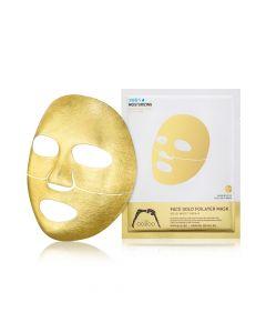 Золотая 3х-слойная экспресс-маска с термоэффектом THE OOZOO Face Gold Foilayer Mask