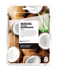 """Тканевая маска """"Кокос - Питание"""" Superfood for Skin Nourishing Sheet Mask"""