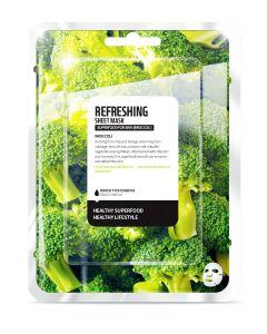 "Тканевая маска ""Брокколи - Свежесть"" Superfood for Skin Broccoli Refreshing Sheet Mask"