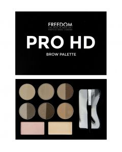 Набор для бровей Freedom Makeup Pro HD Brow Palette Fair Medium