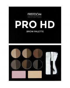 Набор для бровей  Freedom Makeup Pro HD Brow Palette Medium Dark