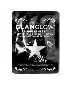 Очищающая тканевая маска для лица GLAMGLOW Bubblesheet Oxyganating Deep Cleanse Mask