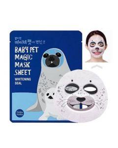 Тканевая маска Holika Holika Baby Pet Magic Mask Sheet Whitening Seal
