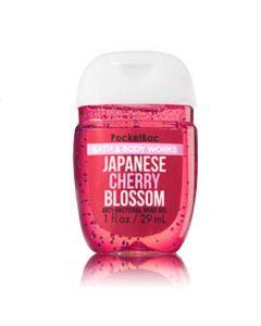 Антибактериальный гель для рук Bath & Body Works PocketBac Japanese Cherry Blossom